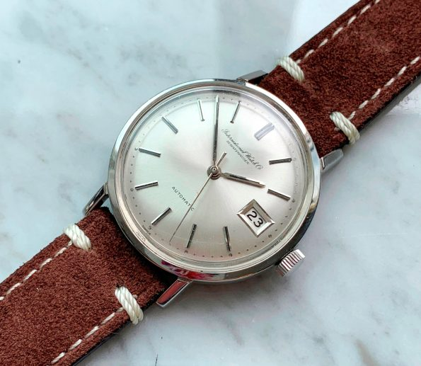 Vintage IWC Automatic Steel with Vintage Ecru Strap