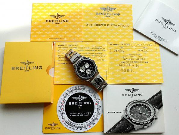 Breitling Jupiter Pilot Papers Bracelet UTC Module