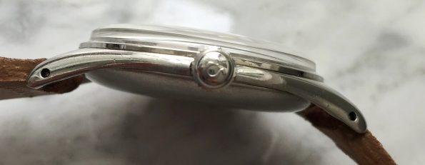 38mm Omega Jumbo Oversize Art Deco Stahl