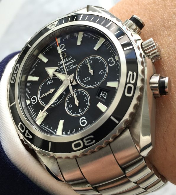 Omega Seamaster Planet Ocean Professional Co Axial Full Set