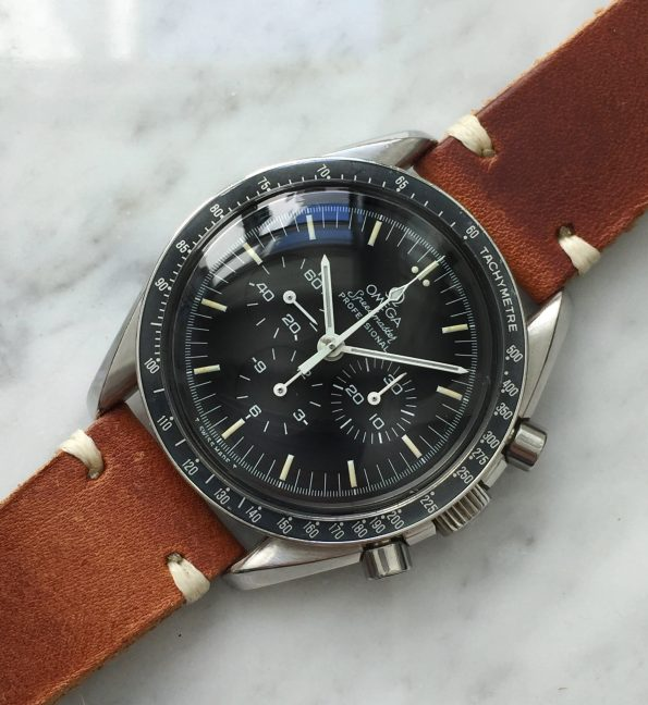 Professionally Serviced Tritium Omega Speedmaster Professional 145022