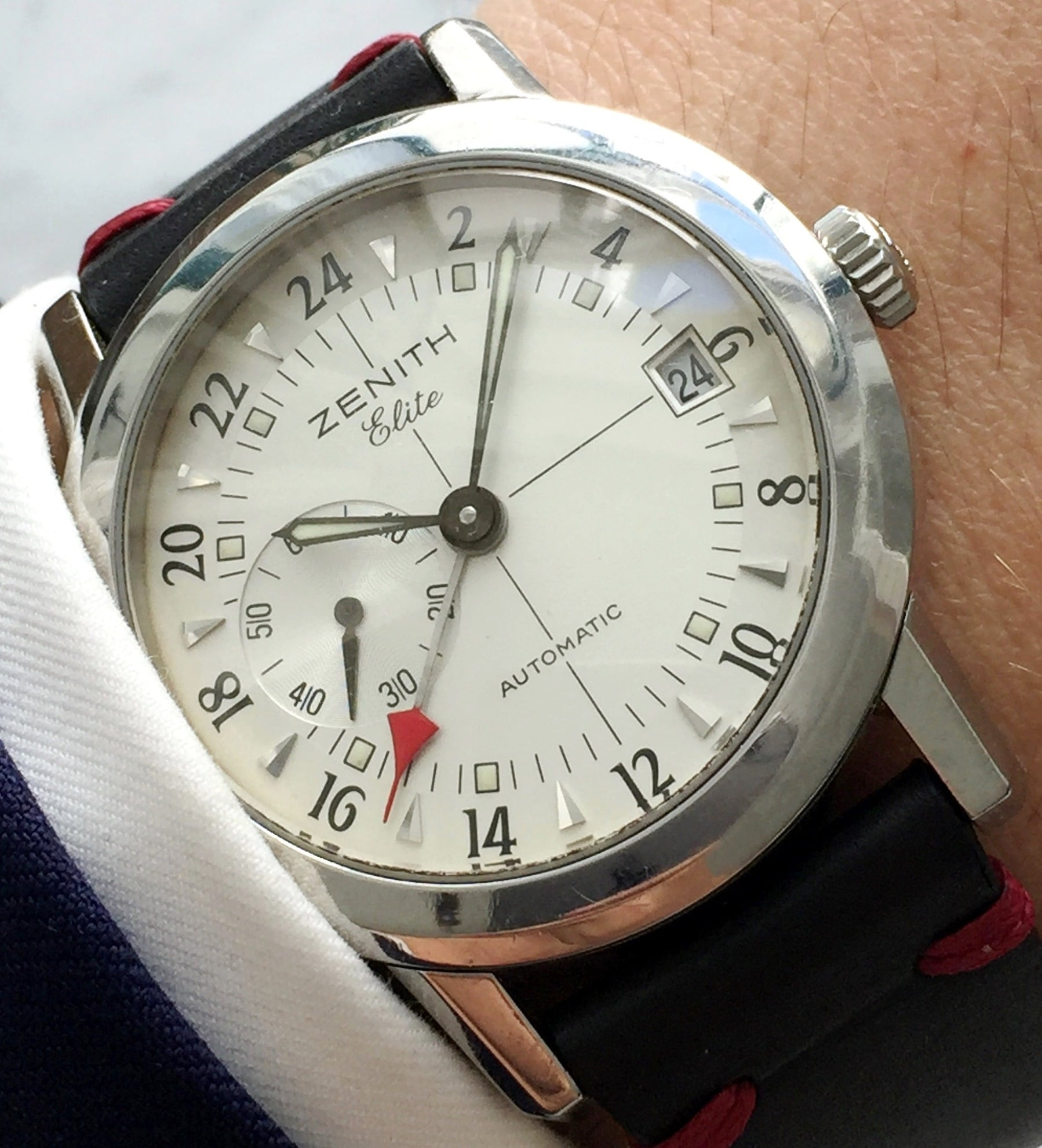 Great Zenith Elite Port Royal GMT Steel Automatic