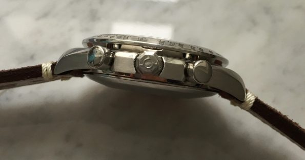 Omega Speedmaster Automatic Reduced Triple Date
