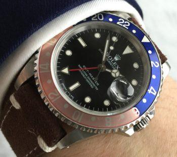 [:en]Vintage Rolex GMT Master 1 Ref 16700 Automatic Pepsi Tritium[:de]Vintage Rolex GMT Master 1 Ref 16700 Automatik Pepsi Tritium[:]