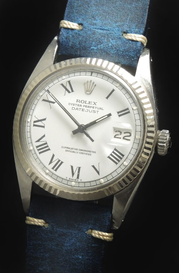 Buckley Ziffernblatt Rolex Datejust Automatik Vintage