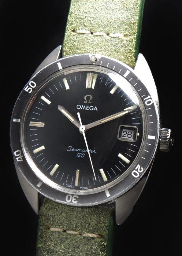 Vintage Omega Seamaster 120 Date