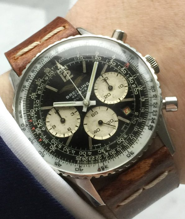 Iraqi Air Force Breitling Old Navitimer Vintage Ref 7806