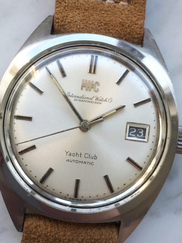 Beautiful IWC Yacht Club Automatic Date Original Papers