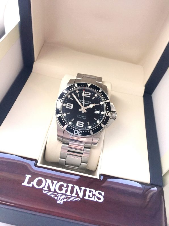 Longines HydroConquest Vintage Full Set Diver Box Papiere