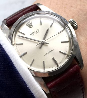 [:en]1959 Rolex Precision Handwinding Steel[:de]1959 Rolex Precision Handaufzug Edelstahl[:]
