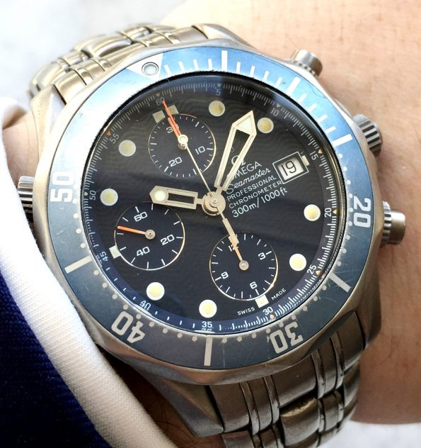 Omega Seamaster 300 Professional Diver Chronograph Titanium James Bond