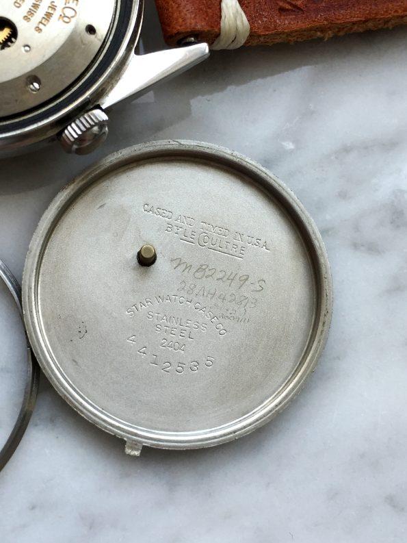 Vintage Jaeger LeCoultre Memovox Stahl