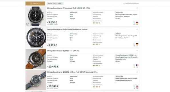 Tolle Omega Speedmaster Vintage 105012 1966 Pre Moon DON