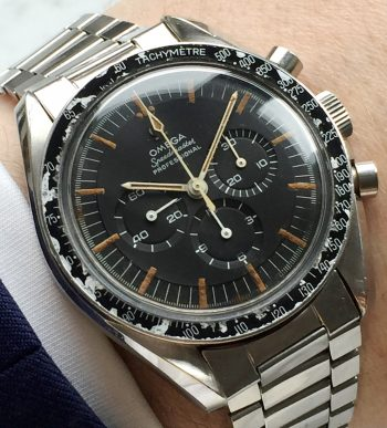 Wonderful Omega Speedmaster Vintage 105012 1966 Pre Moon DON