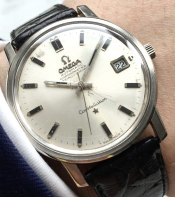 Wonderful Omega Constellation Automatic Steel with Onyx Indices