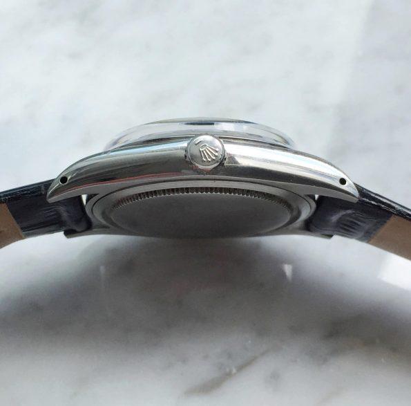 Rolex Precision Vintage Date Black Restored Dial