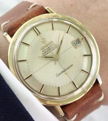 Uncommon Crosshair Dialed Omega Constellation Automatic Vintage