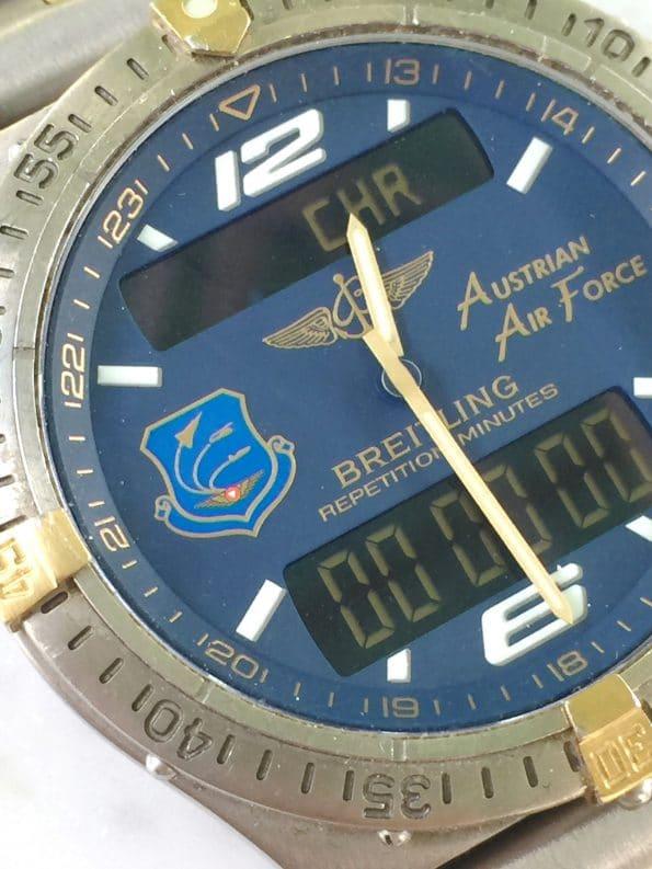 Number 002/200 LIMITIERTE Breitling Aerospace Full Set AUSTRIAN AIR FORCE