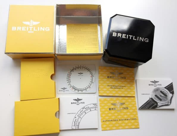 Limited Breitling Chronospace Full Set Red Arrows