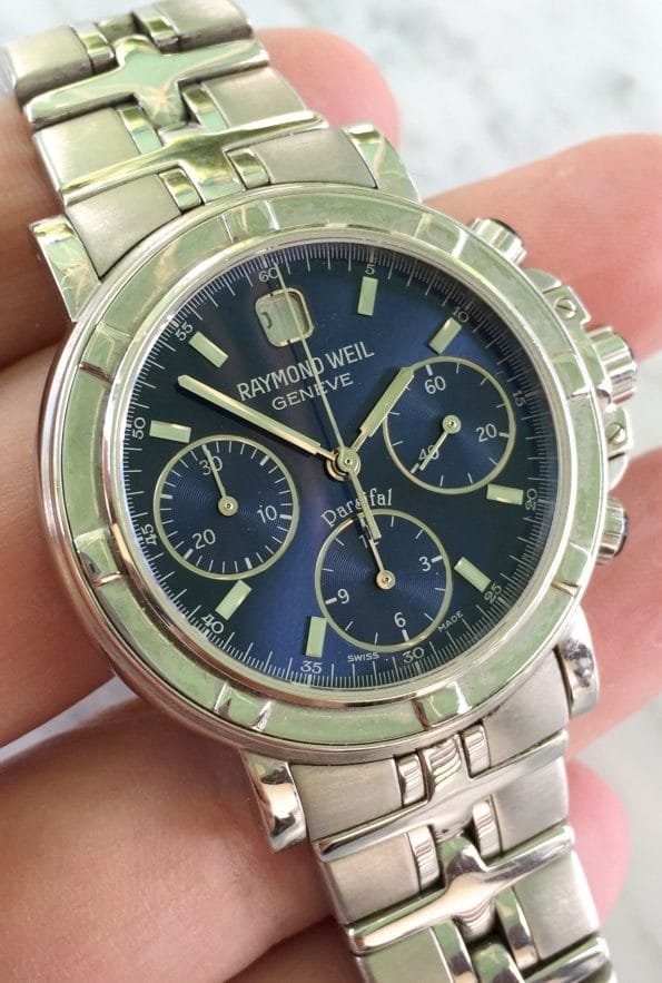 Raimond Weil Geneve Parsifal Chronograph ref7231 Full Set