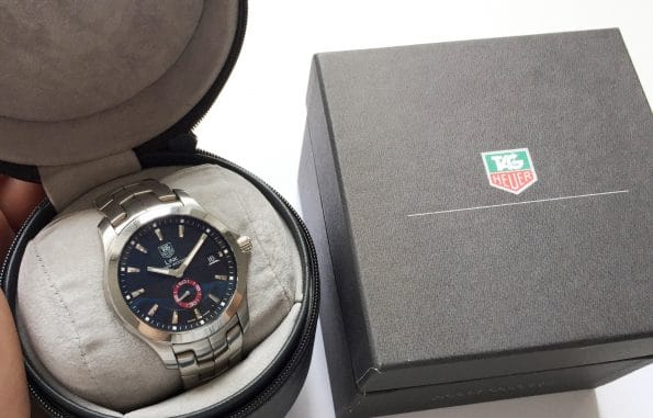 Tag Heuer Link Full Set Tiger Woods Limited Automatic