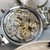Rare Zodiac REVERSE Panda Dial Chronograph Steel