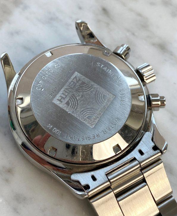 Vintage Zenith El Primero De Luca Professionally Serviced