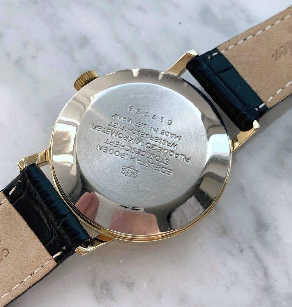 Vintage Gub Glashütte Automatic Siver Dial Date