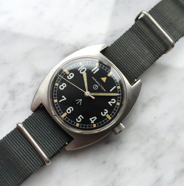 Vintage Hamilton British Military Watch