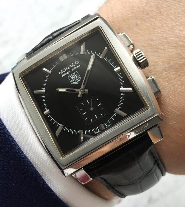 Rare Tag Heuer Monaco Sixty Nine Reverso Chronograph Full Set