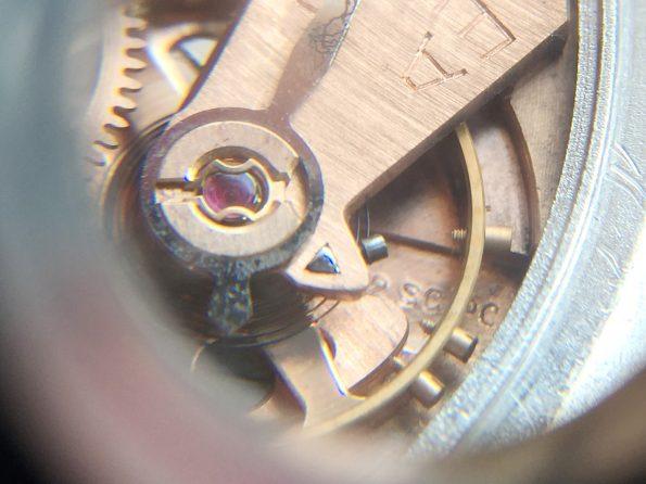 Fantastische Omega 38mm Oversize Jumbo Edelstahl