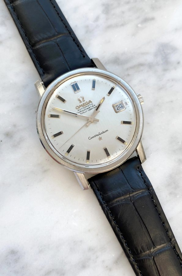 FULL SET Omega Constellation Automatic Vintage Onyx Indices