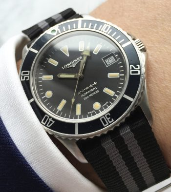 Vintage Longines Diver Admiral 5 Star Submariner Automatic