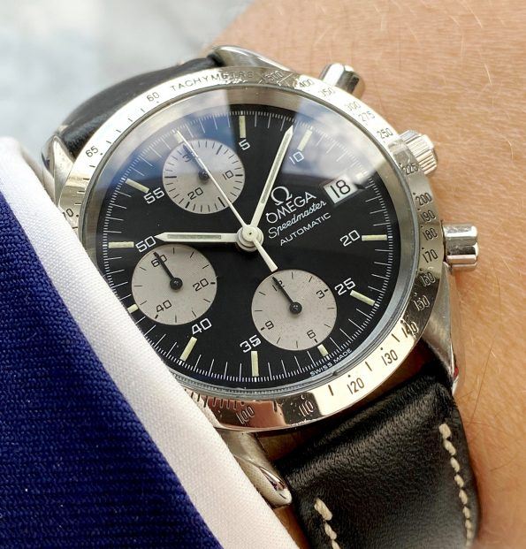 Vintage Omega Speedmaster Automatic Reduced Reverse Panda Dial