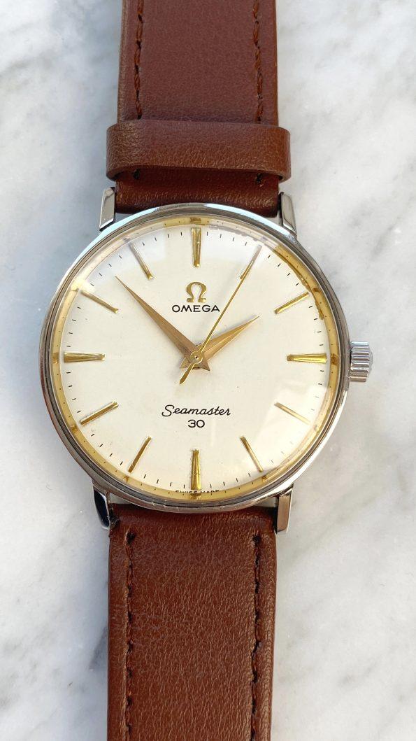 Vintage Omega Seamaster 30 Handwinding