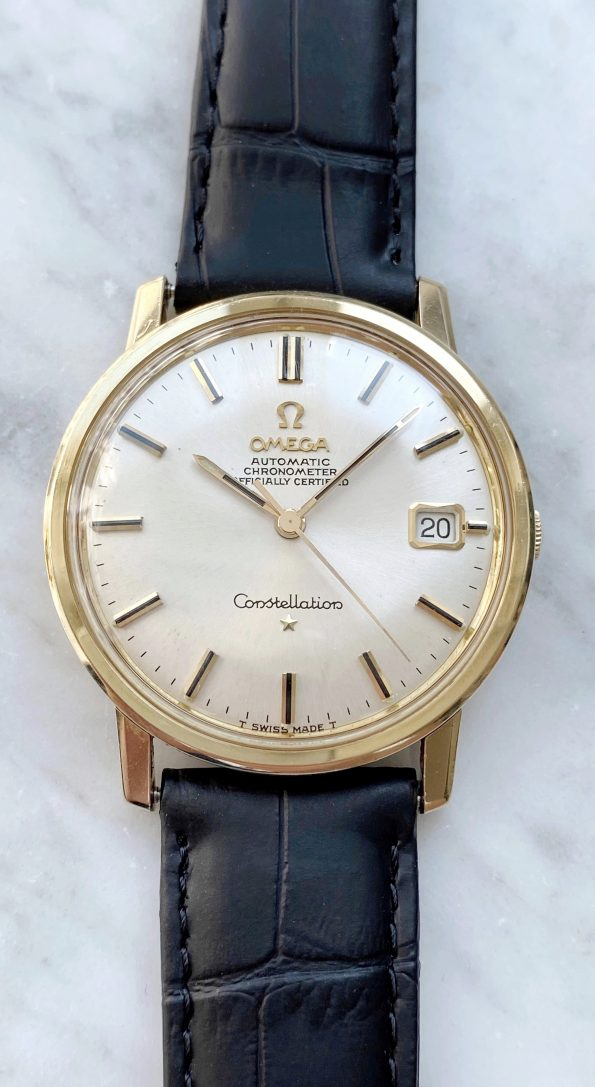 Omega Constellation Automatik Vintage 14 karat Vollgold