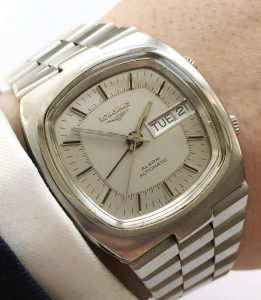 Serviced Longines Memovox Alarm Watch Day Date
