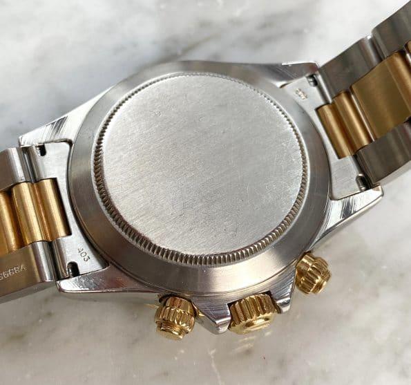 Servicierte Vintage Rolex Zenith Daytona Stahl Gold 16523 von 1988