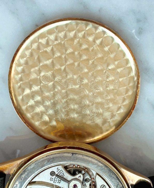 Elegante Omega Oversize Jumbo Vintage Art Deco 14kt Massivgold