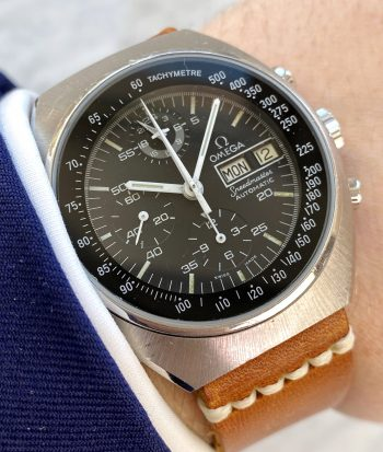 Professionally Serviced Vintage Omega Speedmaster Mark 4.5