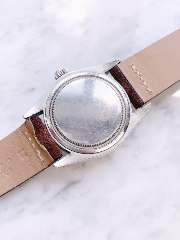 Serviced Rolex Precision black Gilt Dial Vintage Tritium