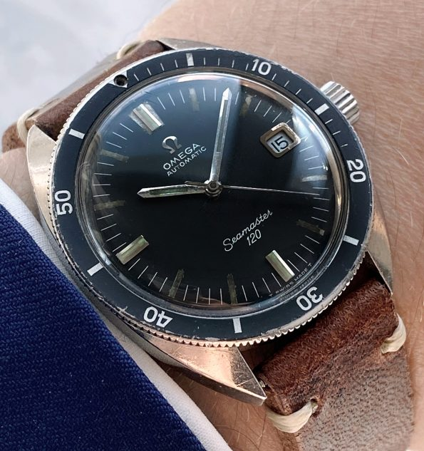 Vintage Omega Seamaster 120 Automatic Diver Date