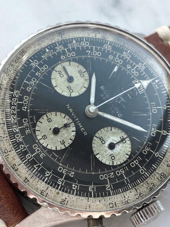 Vintage Breitling Navitimer Chronograph Ref 806 Reverse Panda Dial