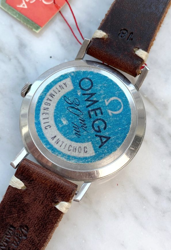 Superrare 40mm Omega Oversize Jumbo Sticker Hangtag