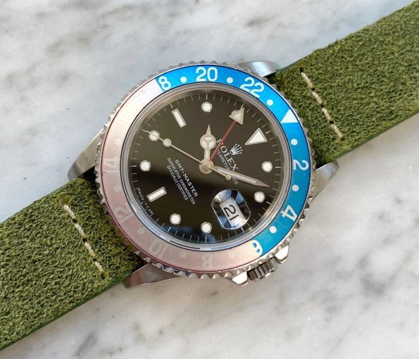 Vintage Rolex Pepsi GMT Master 1 Ref 16700 erblassene Lünette