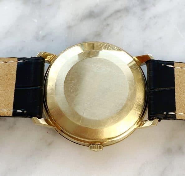 Solid Gold Omega Geneve Automatic beautiful