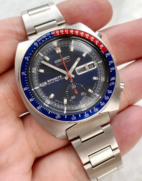 Seiko Pepsi Speedtimer Sports 6139 6000
