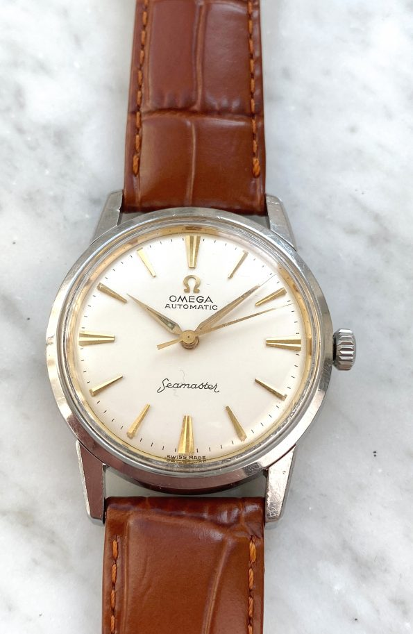 Omega Seamaster Automatic Vintage Pre De Ville Restored Dial