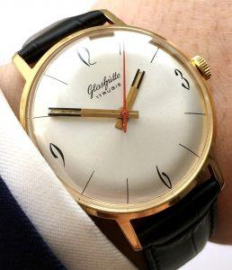 Restored 36mm Vintage GUB Glashütte watch