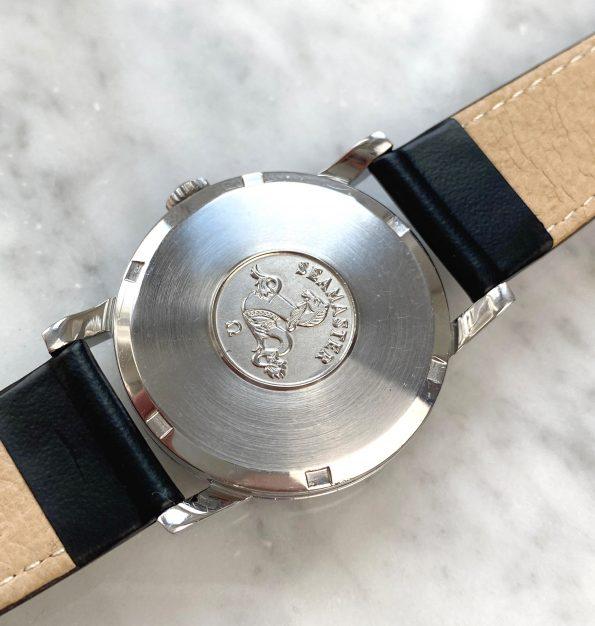 Omega Seamaster Handwinding Vintage Black Restored Dial